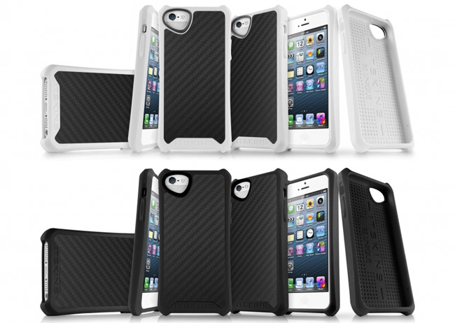 Atom Matte Carbon fiber iPhone 5 case