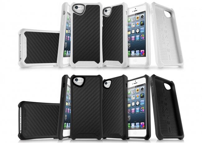 Atom Matte Carbon fiber iPhone 5 case