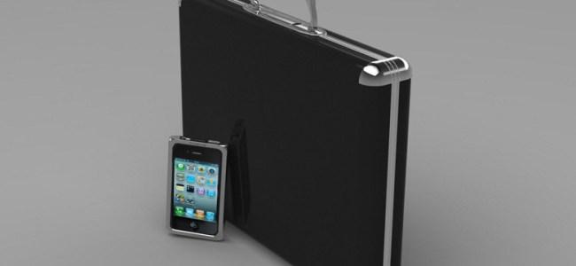 Sexy and Sleek Carbon Fiber Briefcase