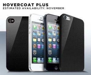 Hovercoat Plus carbon fiber iPhone 5 case