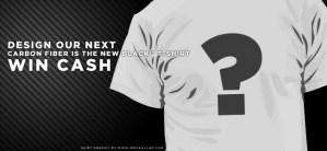 Carbon Fiber Gear T-Shirt Design Contest