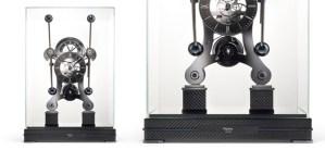 The Carbon Fiber Grass Hopper Clock from Asprey