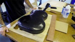 Carbon fiber guitar workshop
