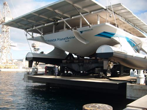 PlanetSolar solar-powered ship