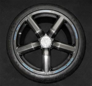 Koenigsegg Agera R carbon fiber wheel