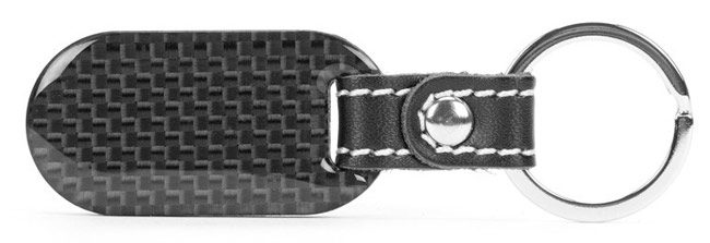 Carbon fiber key tag
