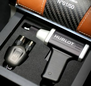 Hublot MP 05 case and tool