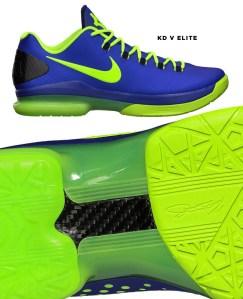 Nike KD V Elite carbon fiber basketball shoe