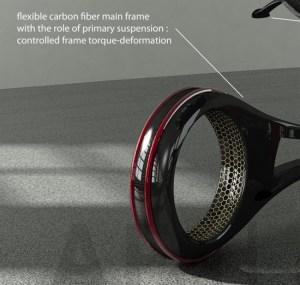 Carbon fiber frame on Bemoove
