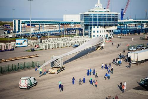 EUROS blade shipment