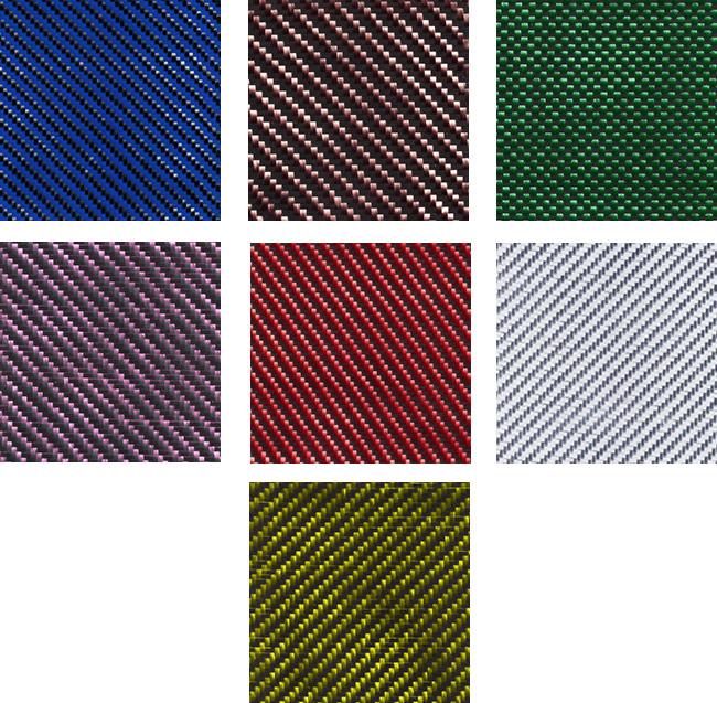 carbon fiber color options