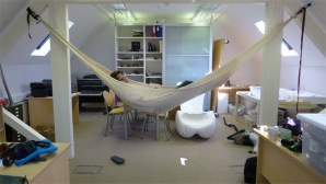 Shape testing with a hammock