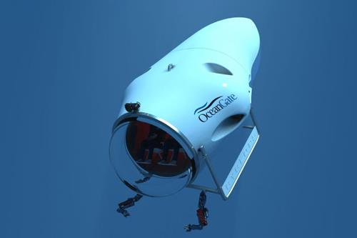 New manned submersible to feature carbon fiber composite hull
