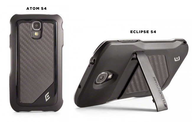 Element Case Atom and Eclipse for Galaxy S4