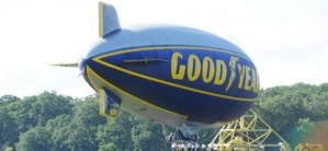 New Goodyear Blimps Made with Carbon Fiber