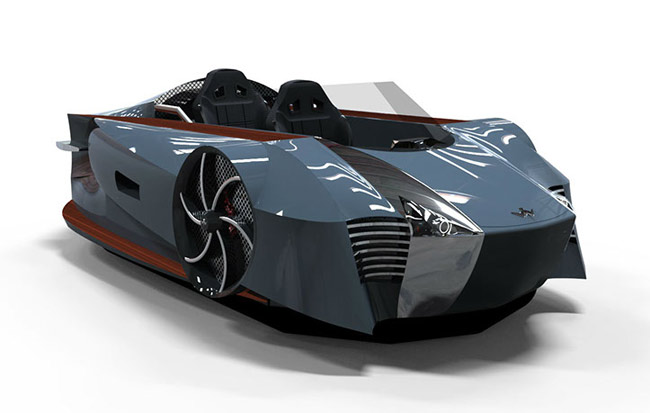 Grey-ish Supercraft