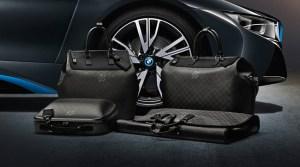 Louis Vuitton Carbon Fiber Bags Match New BMW i8