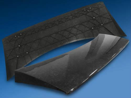 Hybrid carbon fiberglass fiber