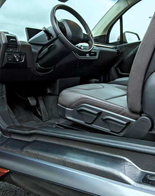 BMW i3 carbon fiber frame