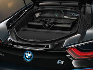 carbon fiber bmw i8 garment bag