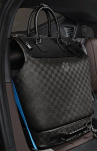 Louis Vuitton carbon fiber bag for BMW i8