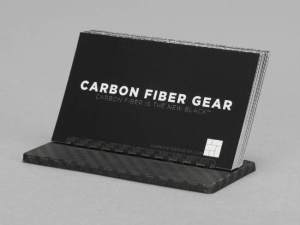 Carbon Touch Carbon Fiber Business Card Desk Stand