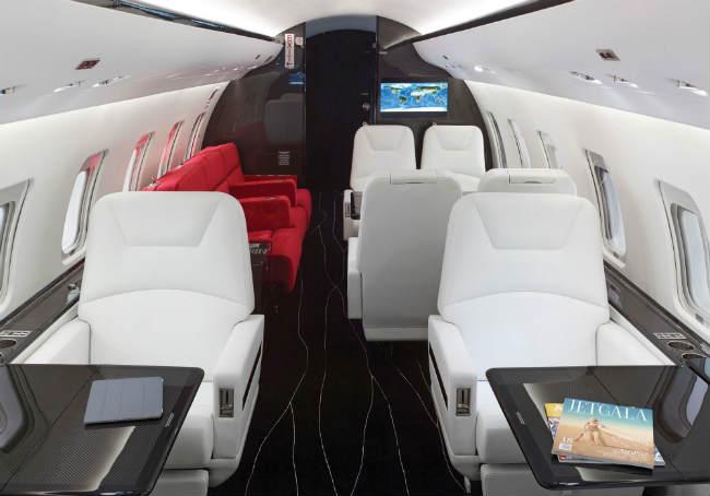 challenger carbon fiber interior