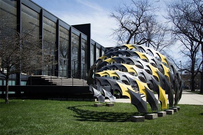Carbon Fiber Proves Its Architectural Worth With the FIBERwave PAVILION