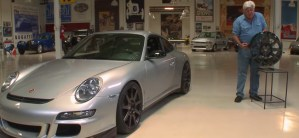 Jay Leno Looks and Tests $15,000 1-Piece Carbon Fiber Wheels