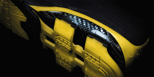 Porsche and Adidas Kick It with Carbon Fiber to Create Springy New Running Shoes