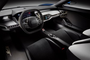 Ford GT Supercar Interior