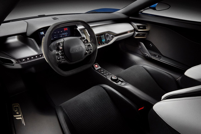 Ford GT Supercar Interior