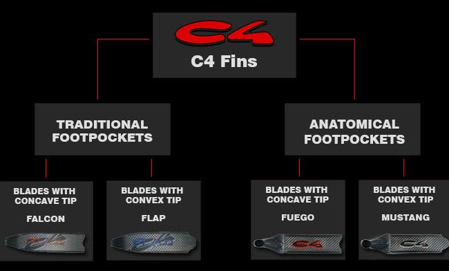 C4 Fins graph