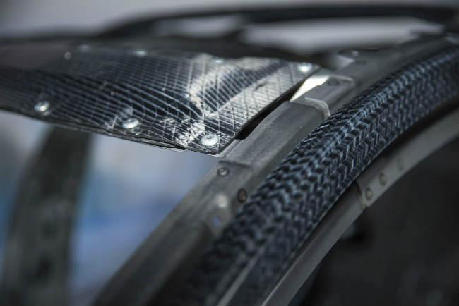 Carbon fiber at Hyundai BMW