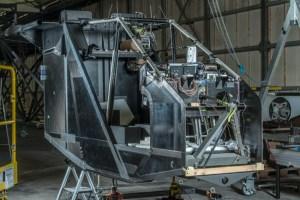 Solar Impulse 2 carbon fiber skeleton