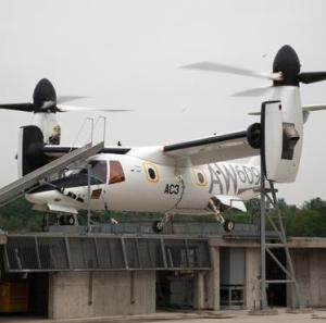 AW609 tiltrotor, with composite primary structures, completes ground testing