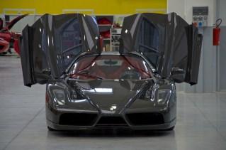 Exposed carbon fiber Enzo Ferrari front