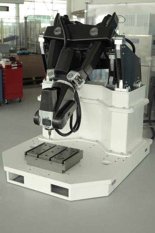 AMRC develops composite robotic machine tool