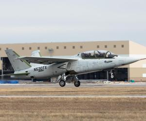 Composites-intensive Scorpion jet completes successful first flight