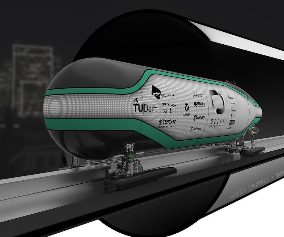 Composites-intensive Hyperloop pod takes first place in SpaceX competition