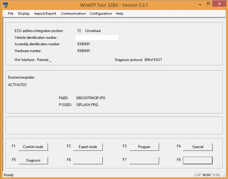 How to use WinKFP to flash FRM3 – OBD2SALE