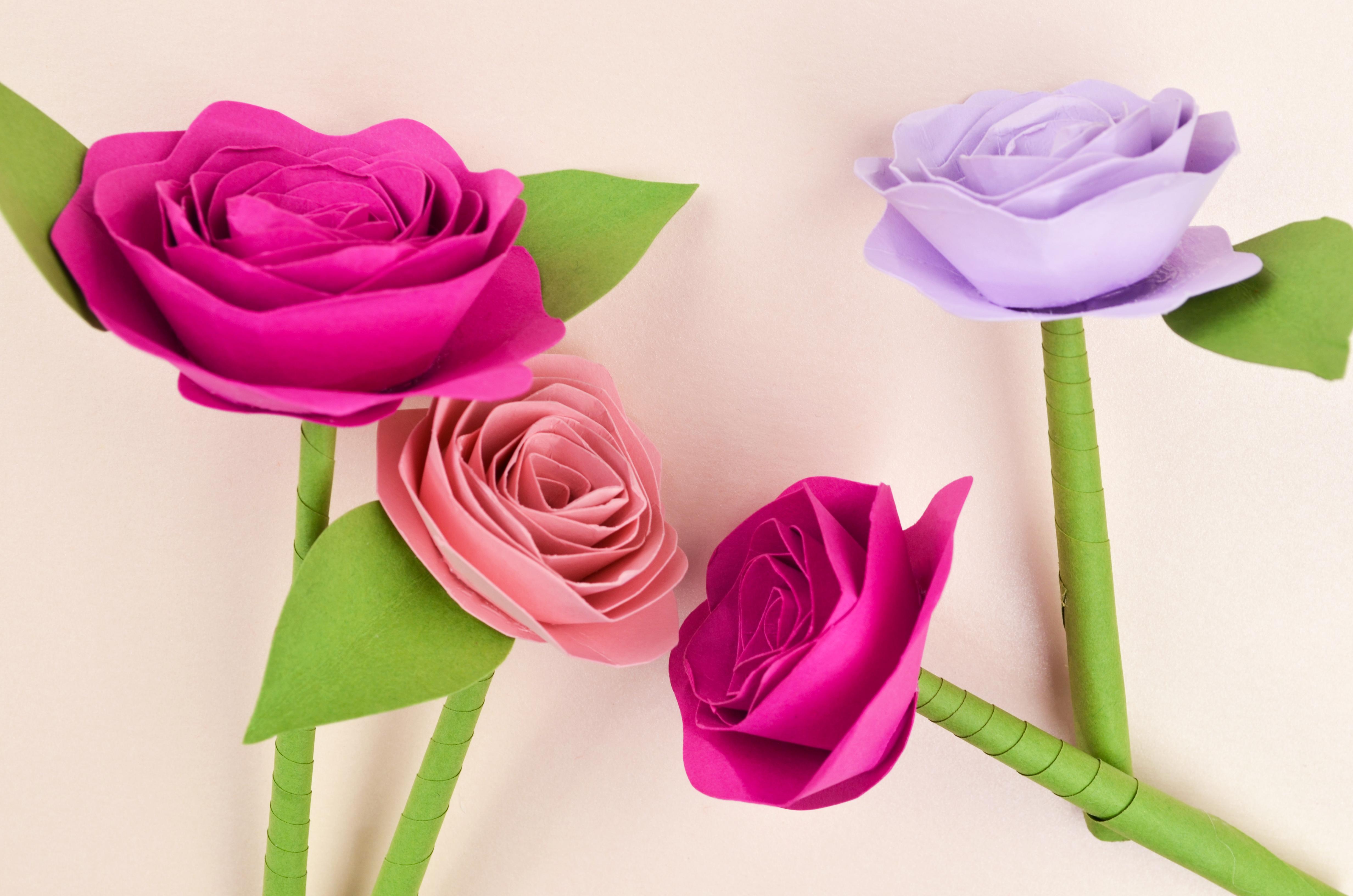 Easy Diy Paper Flower Tutorial