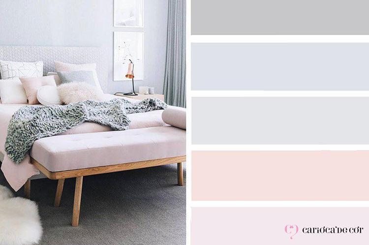paleta de cores para quartos