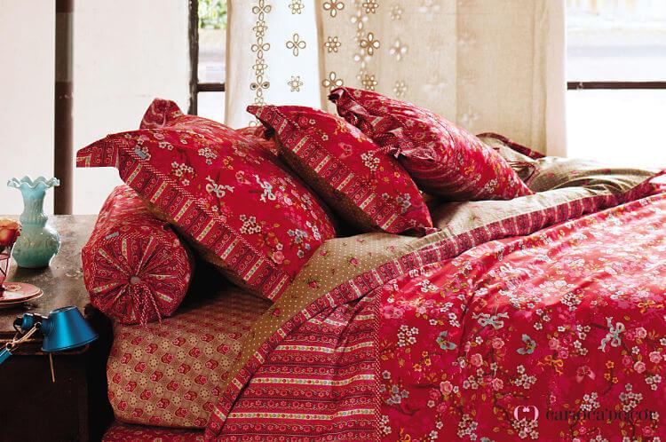 roupa de cama e almofada de cama studio
