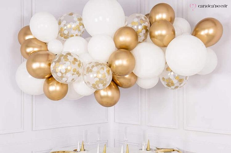 balões para decoração de reveillon