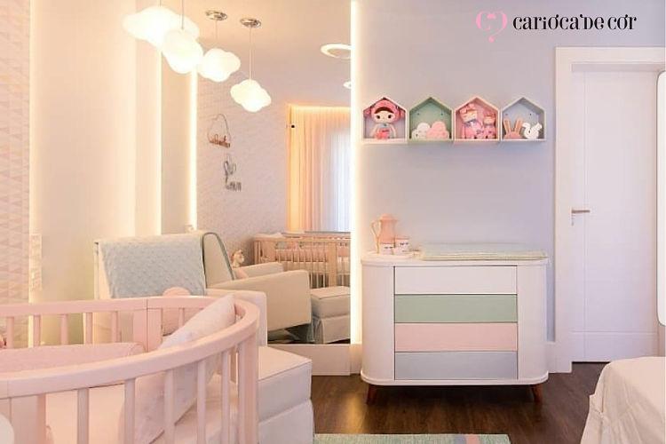 papel de parede para quarto de bebês