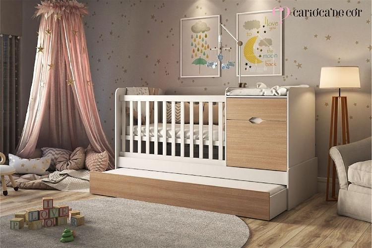 móveis funcionais para quarto de bebês
