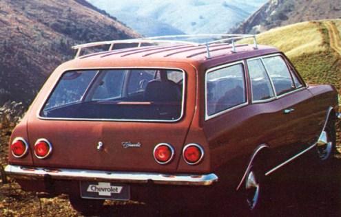 Opala Caravan lançamento