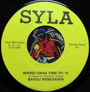 Mardi Gras Time (Pt. II) by Bayou Renegades on Syla Records