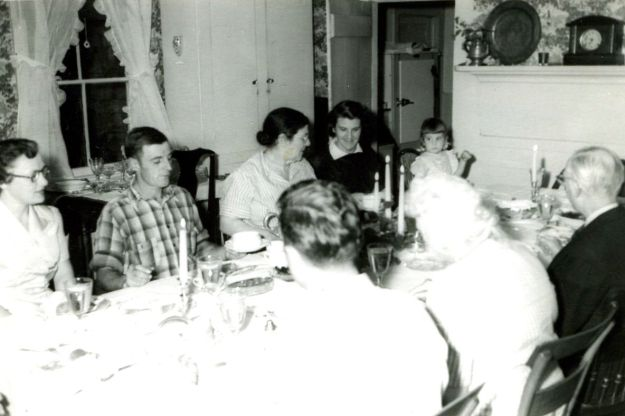 Thanksgiving Supper, 1948